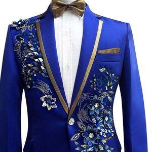 Other - Unique men's embellished Suit jacket
